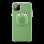Coque iPhone AirPods Vert