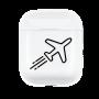 Coque AirPods Avion